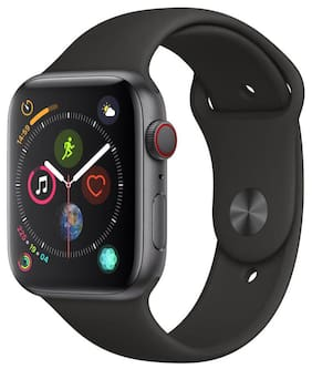 Apple Watch Series 4 GPS + Cellular  44mm Space Grey Aluminium Case with Black Sport Band