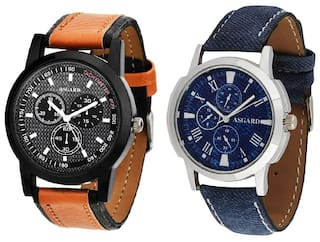 ASGARD  Multi Color Combo of Watches For Mens