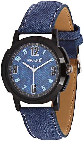 Asgard Analog Black Dial Watch for Men-BB-07