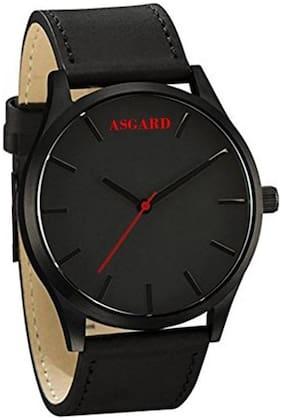 Asgard Analog Black Dial Watch for Men-BM-89
