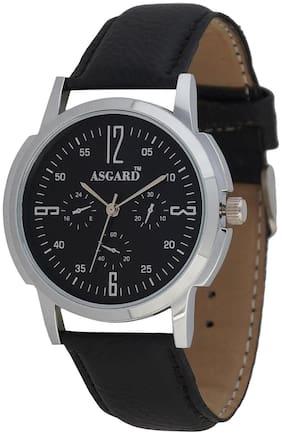 Asgard Black DIal Analog Mens Watch