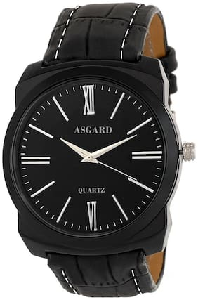 ASGARD Black Dial Watch For Men  Boys-99-Bat