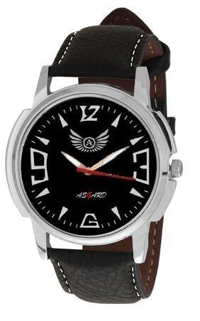 Asgard Black Artifical Leather Analog Watch