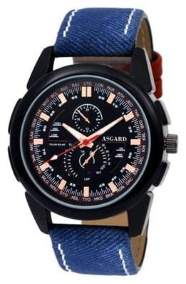 ASGARD Blue Boxer Analog Watch For Men  Boys