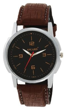 Asgard Brown Analog Watch