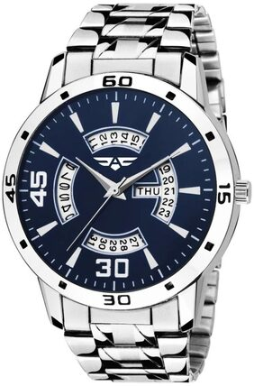 ASGARD Day & Date Feature Blue Dial Watch for Men  Boys