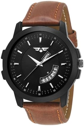 ASGARD Day n Date Feature Black Dial Watch for Men  Boys-166-ZS