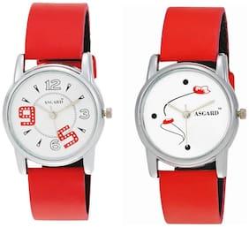 Asgard Designed Women's Watches Combo of 2 Stylish Watch