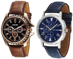ASGARD Limited Watches Mens Boys -Set of 2