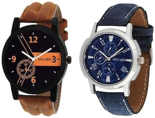 ASGARD Limited Watches Mens Boys -Set of 2