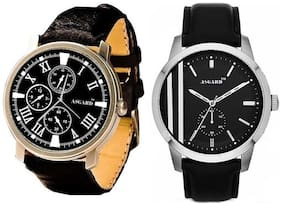 Asgard Men's Analog N-818 Watch-Set of 2