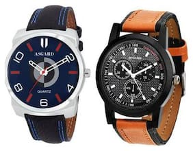 Asgard Multi Color Dial Combo of Watches For Mens & Boys