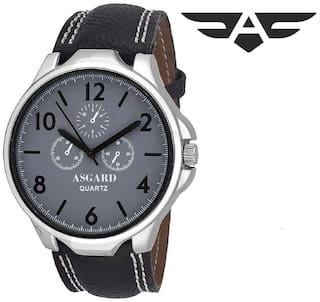 Asgard Trendy Analogue Grey Dial Mens & Boys Watch-BK-BZ-106