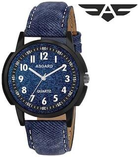 Asgard Trendy Analogue Blue Dial Mens & Boys Watch-BL-BK-103
