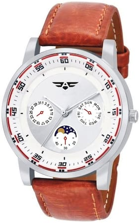 ASGARD White Dial Watch For Men; Boys-159-RL
