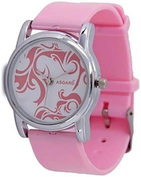 ASGARD WM-P Analog White Dial Women's Watch_GE- PINK-1