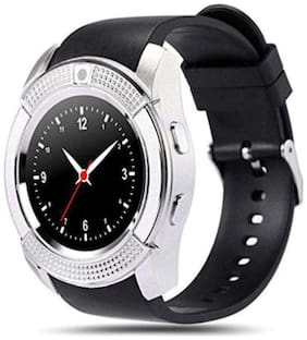 Atina V8 BLUETOOTH SMARTWATCH WITH SIM & SD CARD SUPPORT