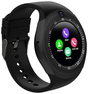 Atina Y1S Men Black Smart Watch