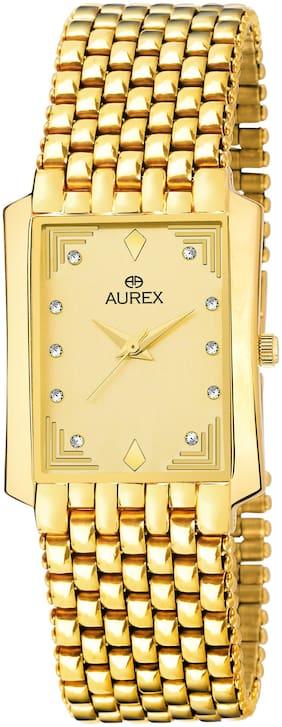 Men Gold Analog Watch