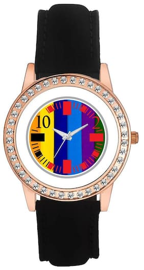 AWorld Multicolor Analog Watch
