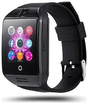 AZU_105A_Q 18 smart watch compatiable with all Smart phones || smart watch with memory card||  with sim card support