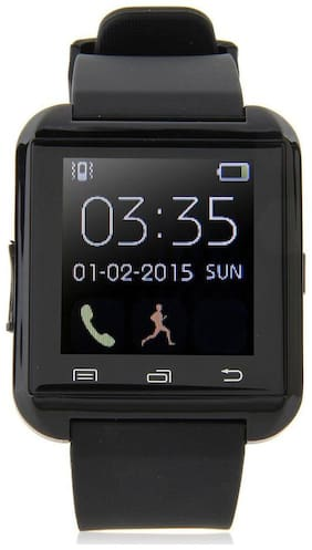 Bastex U8 Black Smartwatch / Watchphone with bluetooth Compatible With Acer Liquid Jade Primo Mobiles