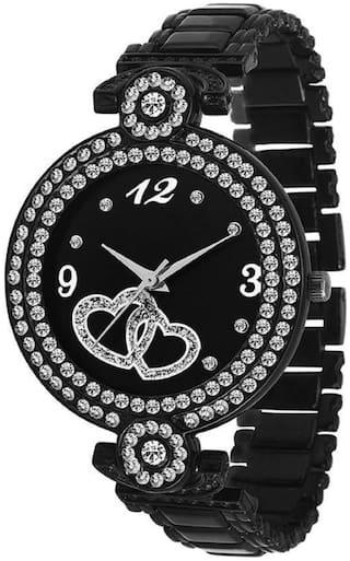 Locate Beautiful Look Trendy Metal Starp Premium Quality Watch