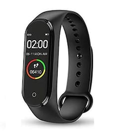Unisex Black Fitness Band & Trackers