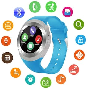 Best Quality Y1 Smartwatch with Pedometer;Remote Camera;Sim Card and Sleep Monitoring Support for all Smartphone
