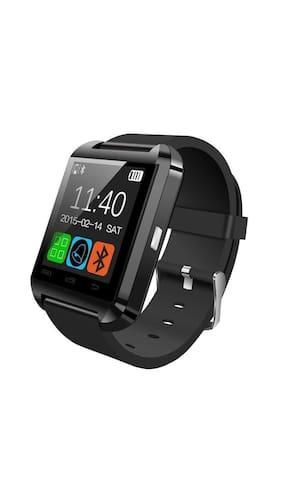 The Big Cashback Sale Starting 70% Cashback On Everything By Paytm | Bingo U8 Bluetooth Black Rubber Smart Watch @ Rs.605