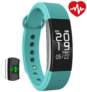 Bingo F1 Green Bluetooth Wireless WaterProof Activity Tracker With Heart Rate Monitoring Fitness Smart Band