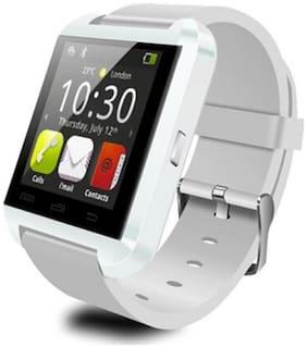 Bingo U8 Bluetooth Smart Wrist Watch Phone White Mate for IOS Android