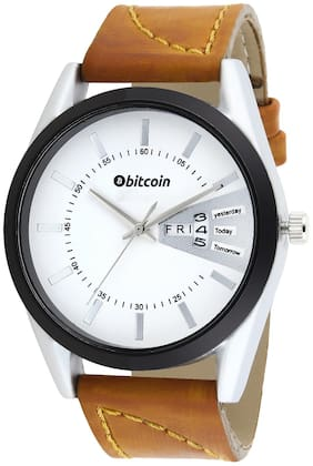 Bitcoin Watch For Men With Day & Date