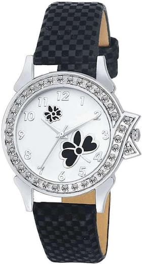 Black Butterfly Simple Watche for women ,Girls and Ledish