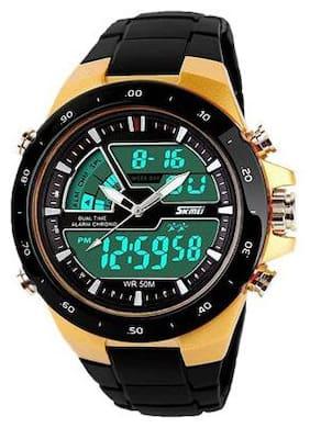 Black Skmei 1016 Analog-Digital Watch