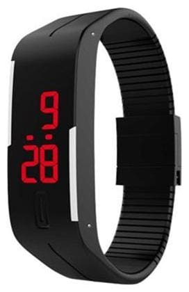 BlackLED digital Watch For Men