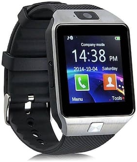 Bluetooth with Built-in Sim card and memory card slot Compatible with Android IOS Mobiles Wrist Calling mobile Smartwatch