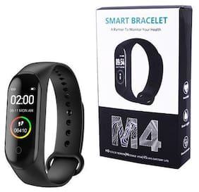 btc_463MB_ MIM4 Fitness band compatiable with all Smart phones || Heart rate band||Health Watch|| Calories Tracker Band