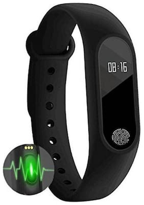 BTK Trade Compatible Smart Fitness Band With Heart Rate Sensor/Pedometer/Sleep Monitoring Functions