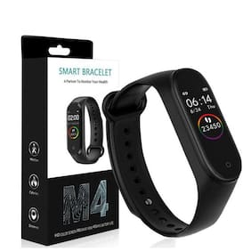 BTK Trade M4 Smart Bracelet Heart Rate Monitor Bluetooth Smartband Health Fitness Tracker Smart Band Wristband For Android IOS