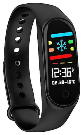 BTK Trade M4 Fitness Tracker Heart Rate Monitoring Band Designed For Smart Devices