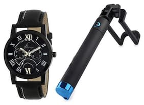 Buy Jack klein Watch And Get Selfie Stick Free
