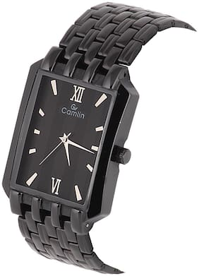 Camlin CB-48 Black Men's Watch With One Year Warranty