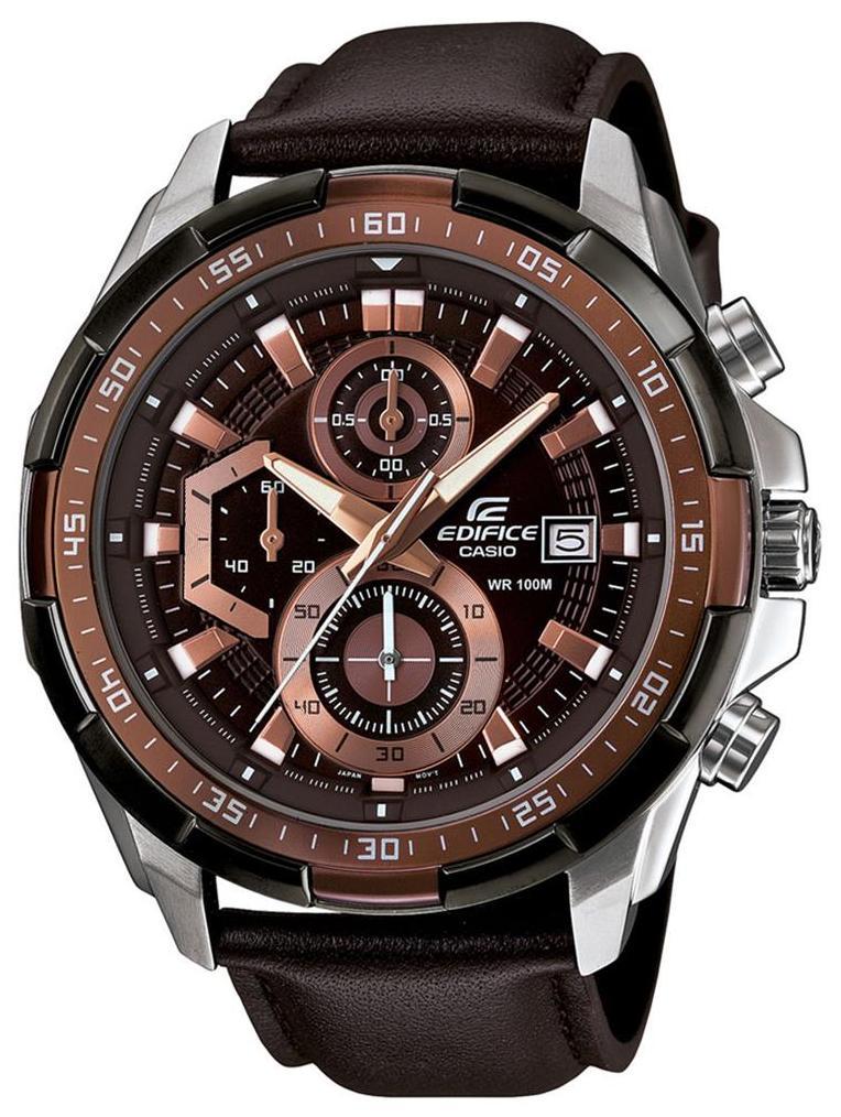 Casio Edifice EFR-539L-5AVUDF (EX194) Analog Watch for Men image