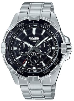 Casio Enticer Mens MTD-1069D-1A2VDF (A1325) Multi Dial Men's Watch
