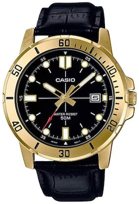 Casio Enticer Analog Black Dial Men's Watch - MTP-VD01GL-1EVUDF (A1369)