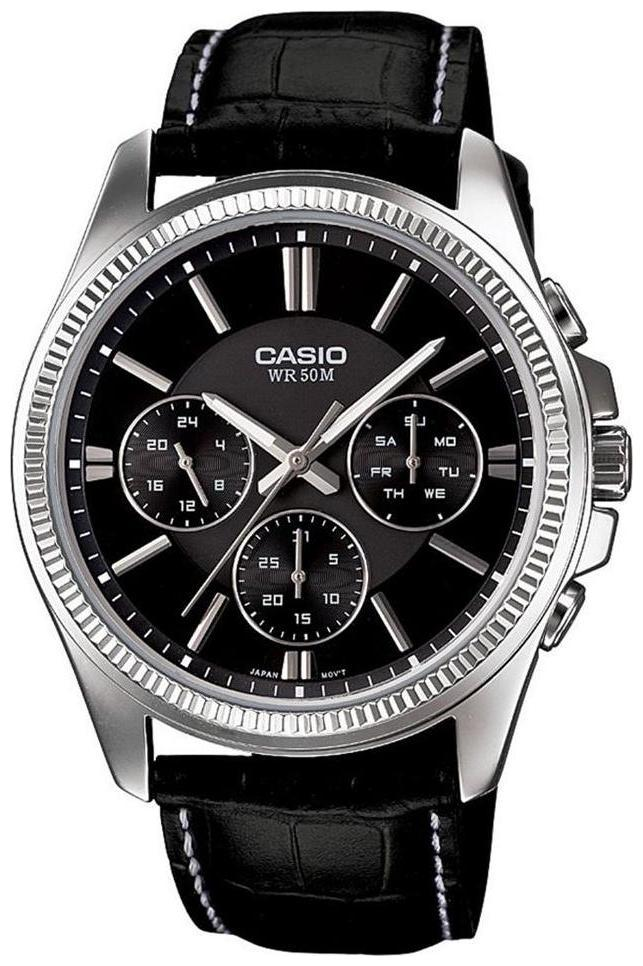 Casio Enticer Men's MTP 1375L 1AVDF  A838  Analog Watch for Men by The Great Sales