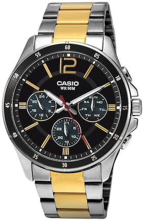 Casio Enticer Men's MTP-1374SG-1AVDF (A953) Analog Watch for Men