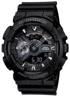 Casio G-Shock GA-110-1BDR (G317) Analog-Digital Men's Watch