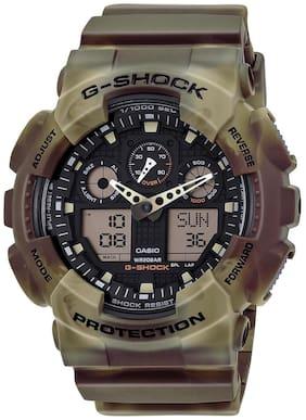 Men Silver Analog-Digital Watches